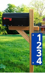 Order Your Address Sign Here